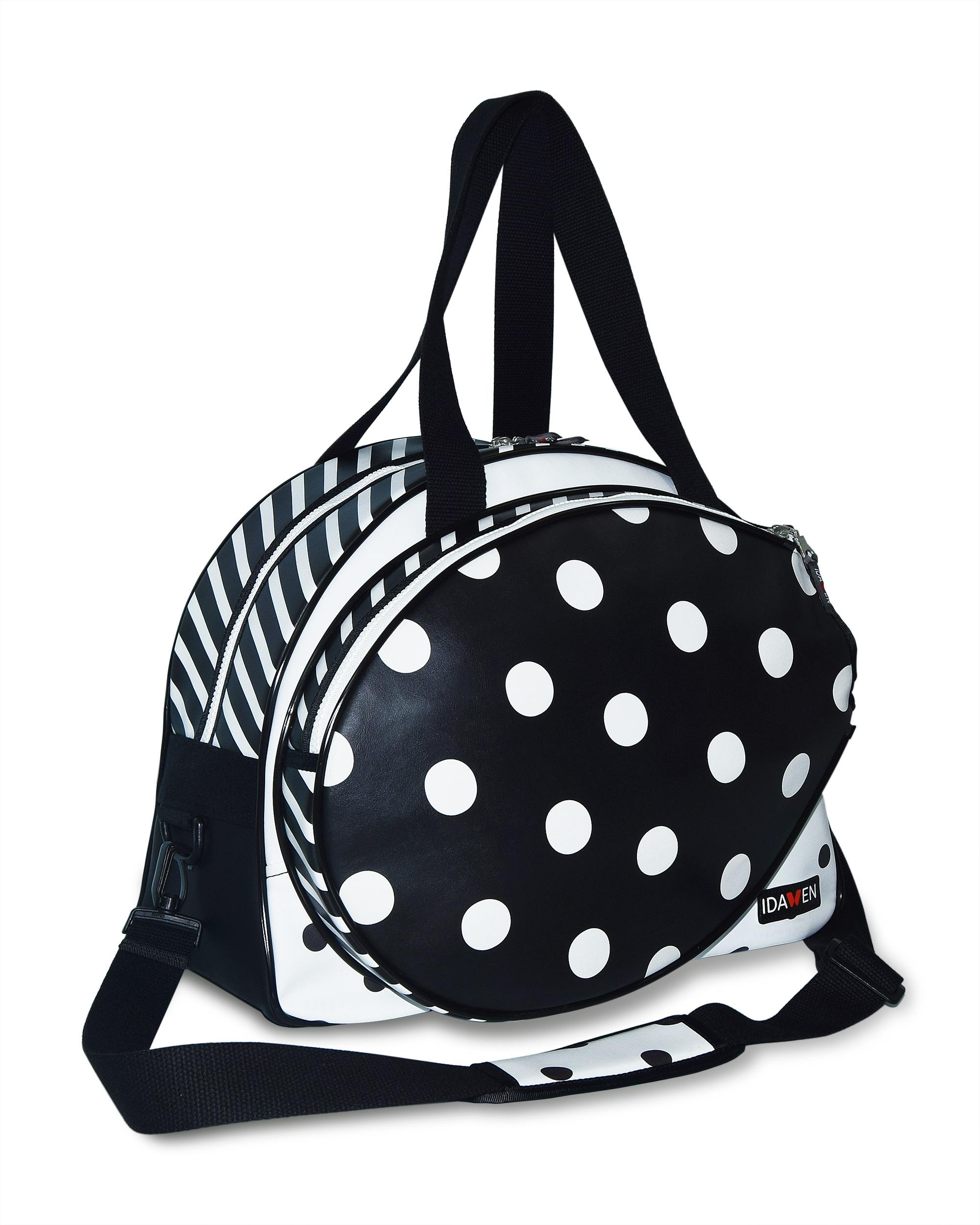 Women Tennis Bag Polska Dots Bags Idawen Fashion